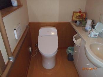 トイレ空間が広く使えて、きめ細やかな節水機能で賢く省エネできます。