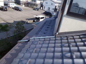 屋根銅板に穴が空き雨漏れを心配していました。早めのリフォームでコストが抑えられ、外観もよくなりました。
