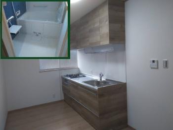 キッチン、お風呂に洗面脱衣室の設備を一新。いつも使う場所が暖かく暮らしやすい住まいになりました。